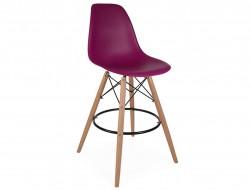 Image de la chaise design Silla de bar DSB - Púrpura