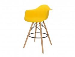 Image de la chaise design Silla de barra DAB - Amarillo