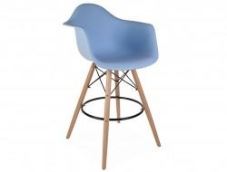 Image de la chaise design Silla de barra DAB - Azul claro