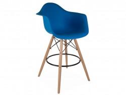 Image de la chaise design Silla de barra DAB - Azul marino