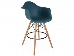 Image de la chaise design Silla de barra DAB - Azul verde