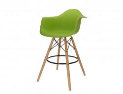 Image de la chaise design Silla de barra DAB - Manzana verde