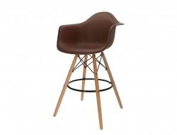 Image de la chaise design Silla de barra DAB - Marrón