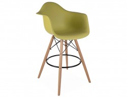 Image de la chaise design Silla de barra DAB - Mostaza