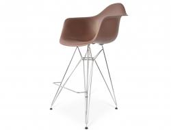 Image de la chaise design Silla de barra DAR - Marrón