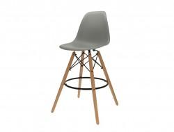Image de la chaise design Silla de barra DSB - Gris