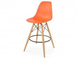 Image de la chaise design Silla de barra DSB - Naranja