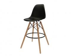 Image de la chaise design Silla de barra DSB - Negro