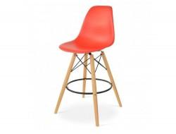 Image de la chaise design Silla de barra DSB - Rojo vivo