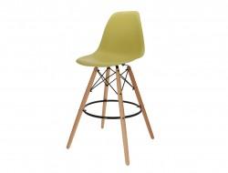 Image de la chaise design Silla de barra DSB - Verde oliva