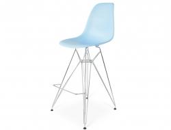 Image de la chaise design Silla de barra DSR - Azul