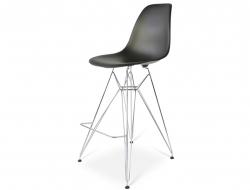 Image de la chaise design Silla de barra DSR - Negro