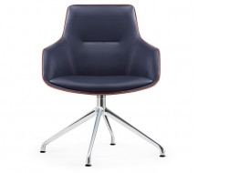 Image de la chaise design Silla de oficina Ergonómico 1903T - Azul marino