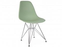Image de la chaise design Silla DSR - Almendra verde