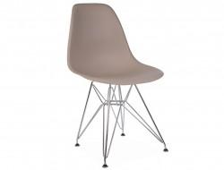 Image de la chaise design Silla DSR - Beige gris