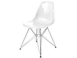 Image de la chaise design Silla DSR - Blanco brillante