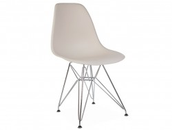 Image de la chaise design Silla DSR - Crema