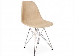 Image de la chaise design Silla DSR Textura - Beige