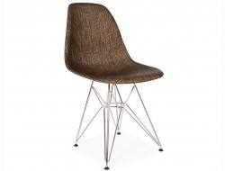 Image de la chaise design Silla DSR Textura - Cacao