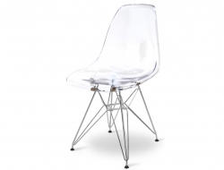 Image de la chaise design Silla DSR - Transparente