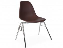 Image de la chaise design Silla DSS apilable - Café