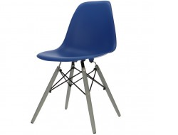 Image de la chaise design Silla DSW - Azul oscuro