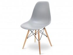 Image de la chaise design Silla DSW - Gris claro