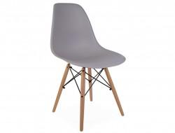 Image de la chaise design Silla DSW - Gris ratón
