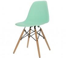 Image de la chaise design Silla DSW - Menta verde