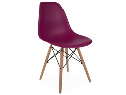 Image de la chaise design Silla DSW - Púrpura