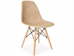 Image de la chaise design Silla DSW Textura - Beige