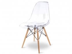 Image de la chaise design Silla DSW - Transparente