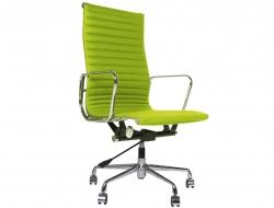 Image de la chaise design Silla Eames Alu EA119 - Verde manzana