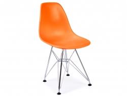 Image de la chaise design Silla Nino Eames DSR - Naranja
