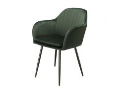 Image de la chaise design Silla Orville Brando - Terciopelo Verde