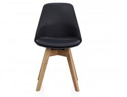 Image de la chaise design Silla Orville Milou - Negro