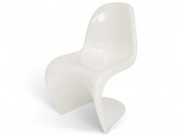 Image de la chaise design Silla Panton - Blanco brillante