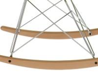 Image de la chaise design COSY Rocking Chair - verde