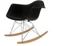 Image de la chaise design Eames Rocking Chair RAR - Negro