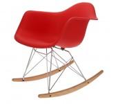 Image de la chaise design Eames Rocking Chair RAR - Rojo vivo