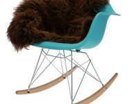 Image de la chaise design Eames Rocking Chair RAR - turquesa