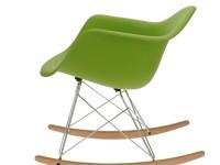 Image de la chaise design Eames Rocking Chair RAR - verde