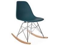Image de la chaise design Eames rocking chair RSR - Azul verde