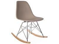 Image de la chaise design Eames Rocking Chair RSR - Beige gris