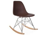Image de la chaise design EAmes Rocking Chair RSR - Café