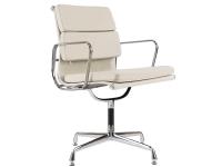 Image de la chaise design Eames Soft Pad EA208 - Blanco marfil