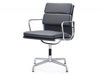 Image de la chaise design Eames Soft Pad EA208 - Gris