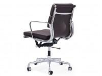 Image de la chaise design Eames Soft Pad EA217 - BMarrón oscurolanco