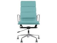 Image de la chaise design Eames Soft Pad EA219 - Azul cielo