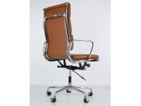 Image de la chaise design Eames Soft Pad EA219 - Caramelo